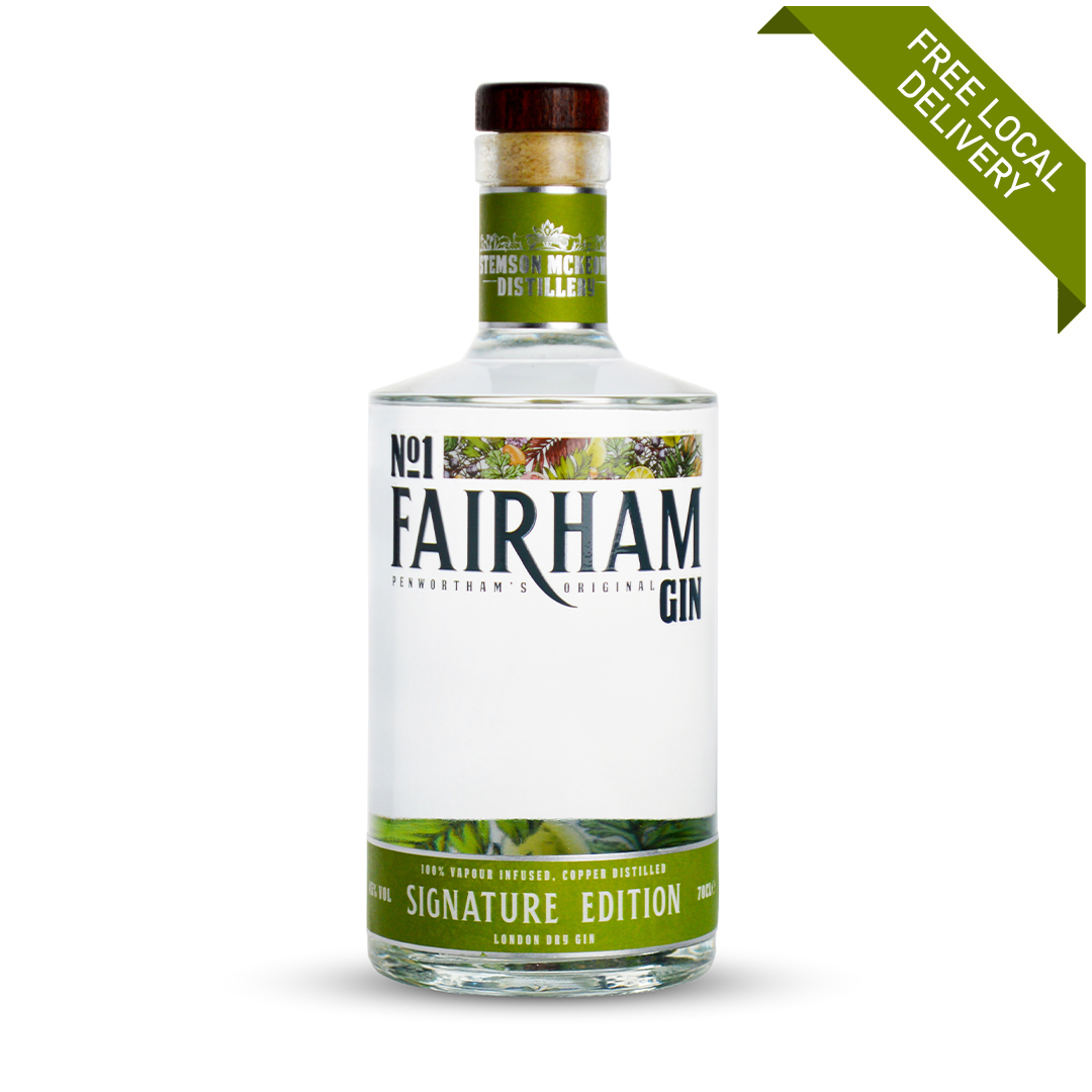 Signature Edition craft gin made in Lancashire from Penwortham