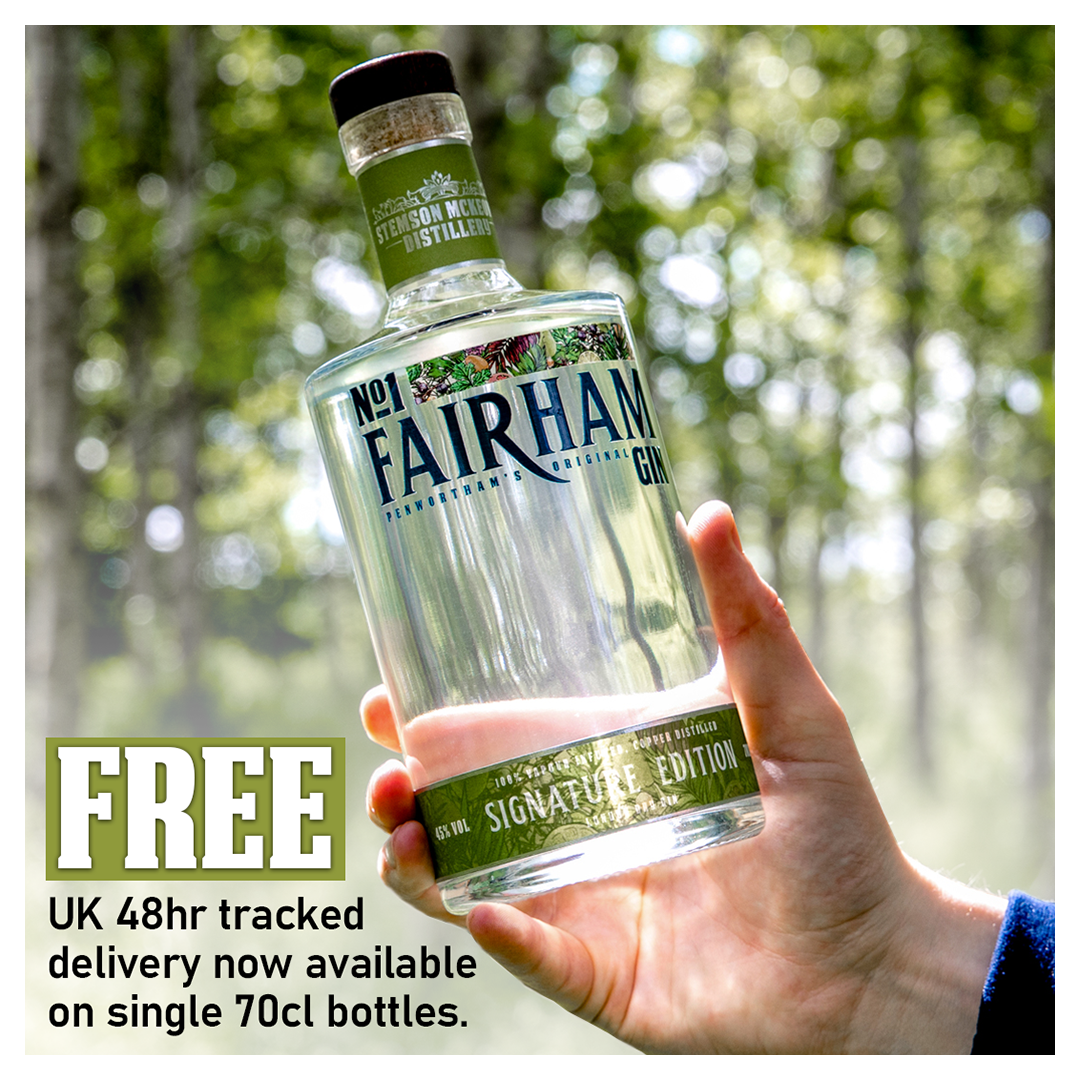 Free UK craft gin delivery