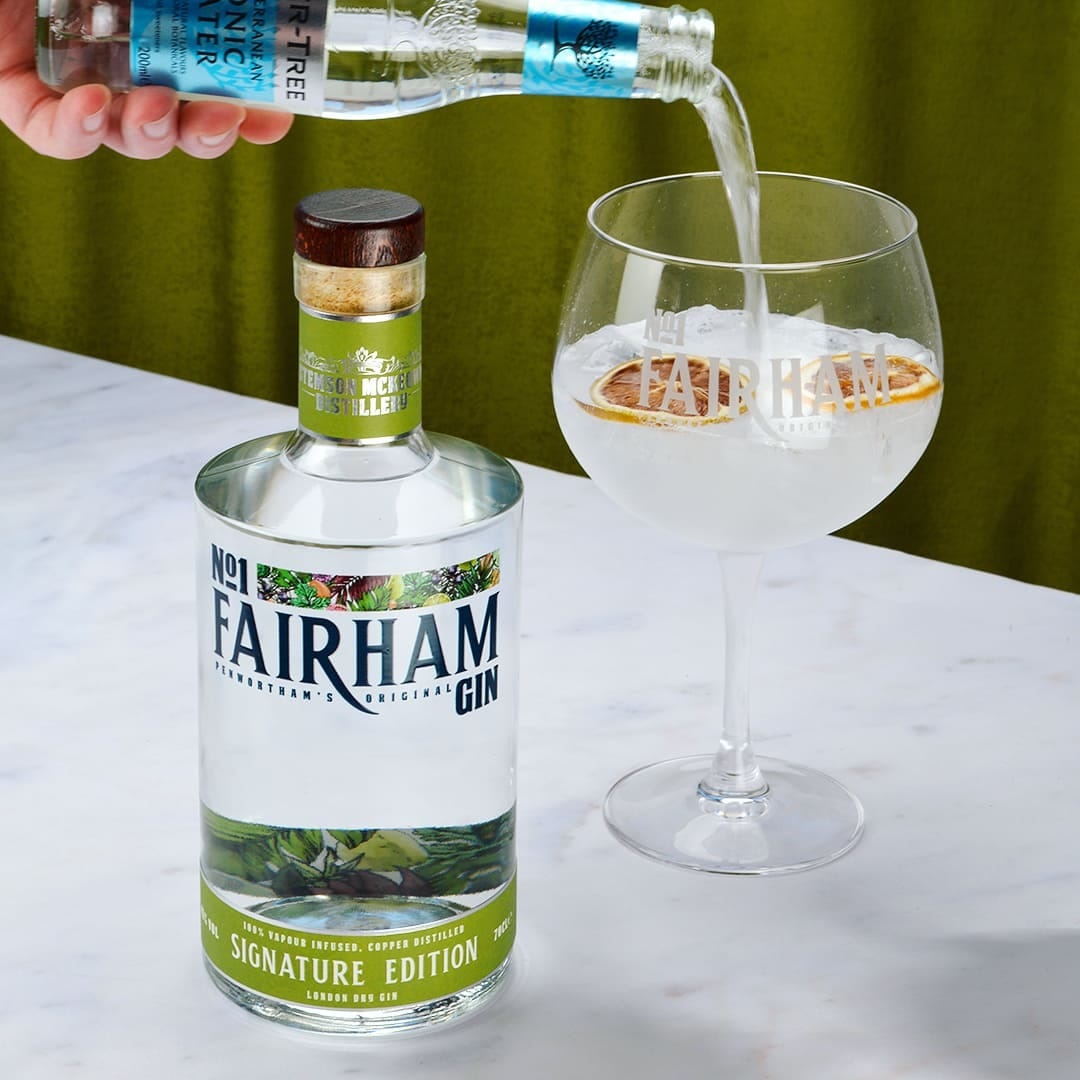 Lancashire Craft Gin that is 100% vapour infused and non-chill filtered