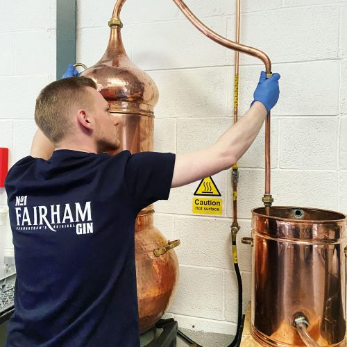 100% vapour infused craft gin distilled in Lancashire from Penwortham