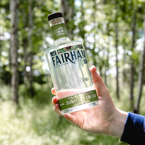 Lancashire craft gin buys one tree for every bottle sold to be planted in the local area